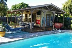 Tampa's Key West Style Pool Home & Cabana