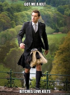 Kilts, loved by all ;)