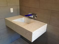 Hard Topix  Precast Concrete | Custom concrete sink | Grand Rapids, MI