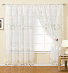 Laurence Macrame Single Curtain Panel