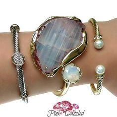 Natural Stone Cuff Bangle by Crystal Avenue Shop www.PinkDazzled.com #bangle #bangles #crystal #bracelet #bracelets #armcandy #armparty #armstacks #cute #love #jewels #gems #jewelry #jewellery #jewelrygram #fashion #fashionista #fashionblogger #fashionjewelry #accessory #accessories #accessorize #style #trendy #PinkDazzled #instagood #instadaily #instatrend #instafashion #instajewelry