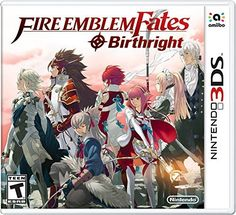 Get Fire Emblem Fates: Birthright release date cover art, overview and trailer. Fire Emblem Fates: Birthright has a traditional tactical role-playing genre with inspirations by oriental culture. The main character in this game is essentially a virtual. Fire Emblem Fates, New Fire Emblem, Donkey Kong Country Returns, Half Moon Bay, Fire Emblem Awakening, 3ds Games, Fire Emblem Birthright, Jeux Nintendo 3ds, Nintendo Games