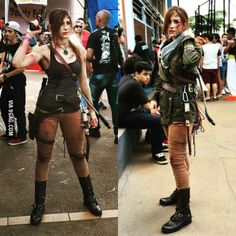 I'm back with my complete Lara Croft cosplay from Rise of the Tomb Raider. Got 1st place in a contest with it :)