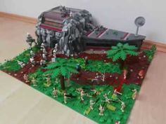 LEGO STAR WARS CLONE BASE ON SALEUCAMI