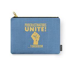 Society6 Procrastinators Unite Tomorrow (Blue) Carry-All ... https://smile.amazon.com/dp/B01GMQ5FN2/ref=cm_sw_r_pi_dp_x_bDKpybFK5ZF3M