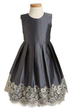 Isabel Garreton Floral Lace Pleated Dress (Toddler Girls, Little Girls & Big Girls) available at #Nordstrom