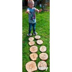 Hop to your number bond or turn over to reveal its friend. An active way to explore number bonds to Set of C. Cosy Direct, Number Bonds To 10, Forest School, Numbers, Search, Searching