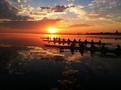 A beautiful morning on Lake Mendota in Madison