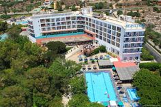 Marina Hotel Ayia Napa Located 400 metres from the sandy Grecian Beach, this family-run hotel offers an outdoor pool, massage treatments, tennis court and a gym. Surrounded by exotic gardens, rooms at Marina Hotel are spacious and include a private balcony.
