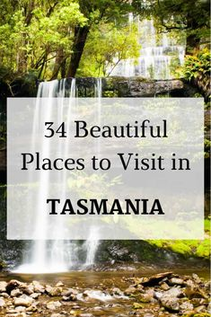 Self-Drive Touring Itinerary of Tasmania. 34 of the Best Places to Visit from awesome beaches, stunning rainforest, pristine forests and the best natural attractions in the State. Tasmania Road Trip, Tasmania Travel, Australia Travel Guide, Australia Trip, Australia Photos, Beautiful Places To Visit, Cool Places To Visit, Australian Road Trip, Travelling Tips