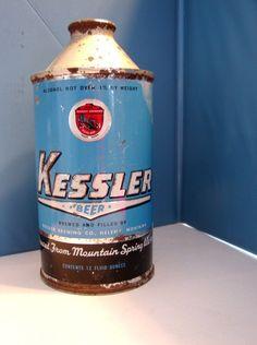 Kessler Beer Can Cone Top Helena Montana | eBay
