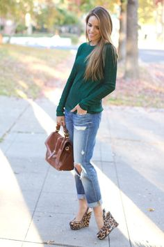 Components of a Cute Casual Outfit for Fall | Glam Bistro
