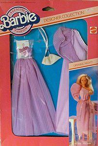 Outfit 80 84 1980s Barbie, Barbie Box, Mattel Barbie, Barbie And Ken, Barbie Dress, Barbie Outfits, Barbie Style, Vintage Barbie Clothes, Doll Clothes