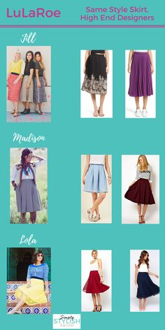 LuLaRoe is knocking it out of the park hitting all sorts of trends seen during Spring 2017 Fashion Week! Perhaps the most on trend and fashion forward styles of those in its collection are the LuLaRoe Skirts - let's explore how they are right in line with Spring 2017 Fashion Trends!