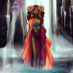ebb7cec5c10 Afrikansk Konst, Svarta Kvinnor Konst, Svart Konst, Fantasi Konst, Dibujo,  Afrika