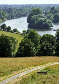 View of #River #Thames from #Richmond #Hill