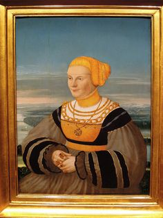 Portrait of Anna von Holzhauzen, nee Ratzeburg, Conrad Faber von Creuznach (1535) | Flickr - Photo Sharing!