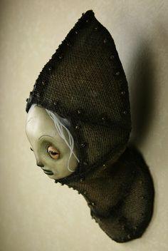 Scott Radke 'Untitled head #1' - mixed media sculpture - featured ...