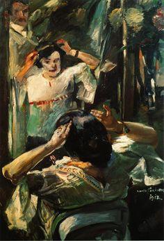 At the Mirror - Lovis Corinth