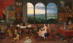 """El sonido de la pintura en el Museo del Prado: El Oído / Pedro Pablo Rubens; Jan Brueghel """"el Viejo"""""""
