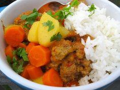 Colombian meatball stew