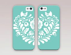 Heart BFF Phone Cases   iPhone 6 Case  by ShopCatchingRainbows