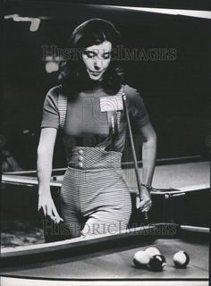 Jean Balukas, the first female superstar of pool