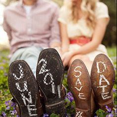 Cute idea! Now all I need are cowgirl boots and a cowboy...