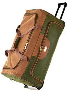 Faux Suede Wheeled Travel Duffle Bag | Luggage Supermarket