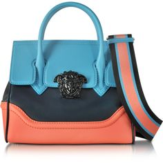 323cf91b684d Versace Handbags Small Palazzo Empire Color Block Leather Tote Bag ( 2