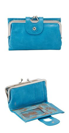 Hobo Womens Genuine Leather Vintage Alice Wallet (Capri)