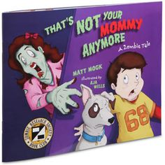 So if I have kids before the Zombie Apocalypse happens, they will know this book by heart. Say what you will, if I'm a zombie, I'd rather my kid put a bullet between my eyes and have a chance of survival then not be able to shoot me because I'm their mother.