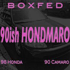 www.Boxfed.com   90ish Hondmaro