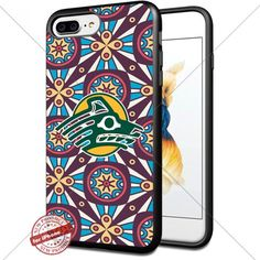 Retro,NCAA,Alaska Anchorage Seawolves, Cool iPhone 7 Plus Smartphone Case Cover Collector iphone TPU Rubber Case Black [By Shumma] -- Awesome products selected by Anna Churchill