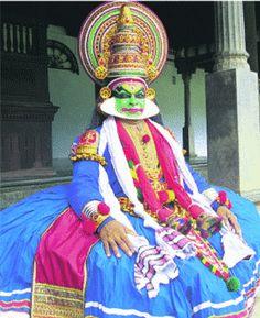 Kathakali dance, Kerala India