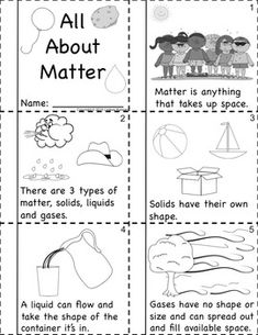 States of Matter Activities: Solids Liquids and Gases Primary Science, Kindergarten Science, Science Classroom, Teaching Science, Science Education, Science For Kids, Science Activities, Science Projects, Science Experiments
