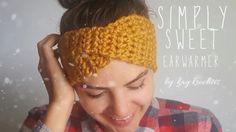 How to crochet Simply Sweet Earwarmer   Twisted Earwarmer   Turban Earwa...
