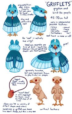 Edit: I've decided to make grifflets a closed species since I'm going to be selling some designs to help pay my university costs! Warning: Large file! Sorry about that, I wanted to make sure the te...
