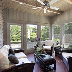 Want to enjoy the outdoors, without being outdoors? Then a 3 season room is likely for you! #hunkeconstruction #hunkeprojects #outdoors #indoors #3seasonroom #dreamspace
