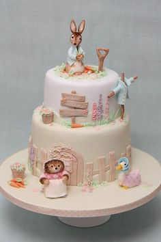 Frivolous Fabulous - Beatrix Potter Tea Time Cake