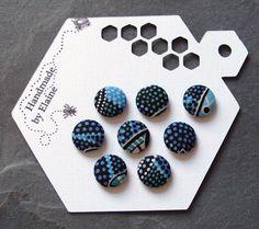 Pretty handmade buttons:-)