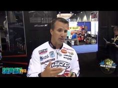 ICAST 2013 Edwin Evers Introduces the Knuckle Junior from Megabass