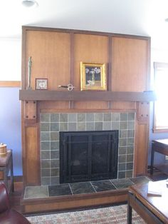 Craftsman Fireplace Design, Pictures, Remodel, Decor and Ideas - page 9