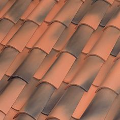 Roja envejecida Roof Tiles, Valencia, It Is Finished, Exterior, Colours, Gardens, Grow Old, Red, Wood