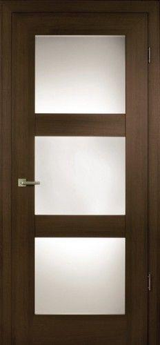 Contemporary Front Door - 3 Square Windows