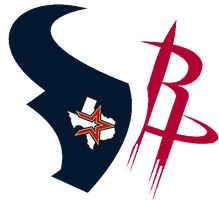 Houston Rockets Texans Astros by dtexanz