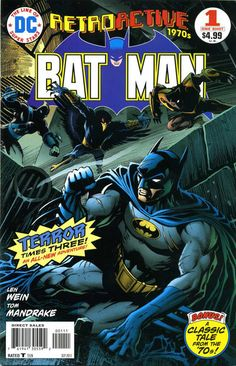 """Holy flash-Bat! DC's """"Retroactive"""" miniseries takes on the Gotham Fliedermaus with two old and new stories from the same era (both by Len Wein set in the 70s)."""