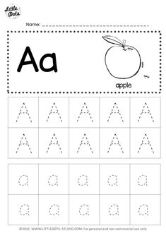 Free letter a tracing worksheets little dots education preschool and activities alphabet printable . Alphabet Tracing Worksheets, Printable Preschool Worksheets, Alphabet Writing, Handwriting Worksheets, Alphabet Worksheets, Abc Tracing, Spanish Alphabet, Alphabet Crafts, Handwriting Practice