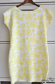 Sukienka w cytrynki