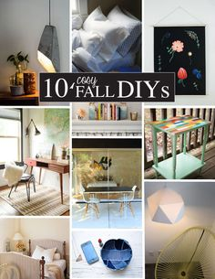 DIY - 10 Cozy Fall DIYs | Martha Stewart Living Blog